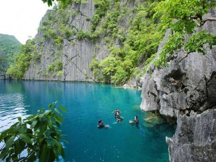 Coron EWDR duiken Barracuda Lake