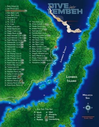Lembeh Dive Sites