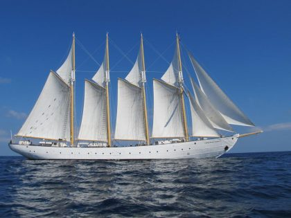 Tall Ship: Diving Cape Verde